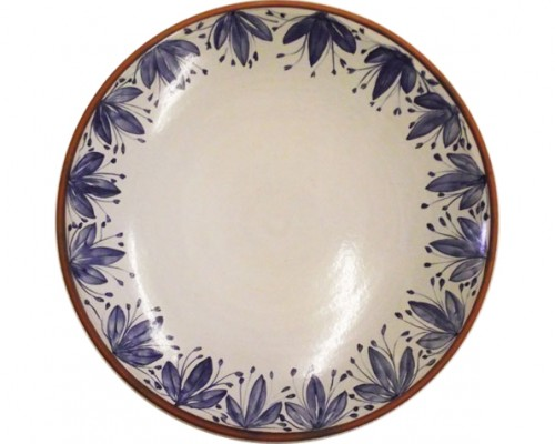 Nantyfelin Blue on White Pottery