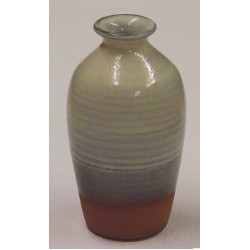 Misty Blue - Large Vase Bottle