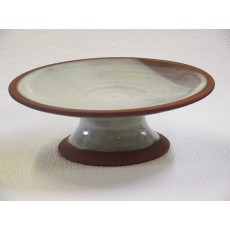 Misty Blue - Large Footed Dish